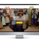 Saint UK charity website design company portfolio