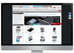 Androids Direct Ecommerce Website