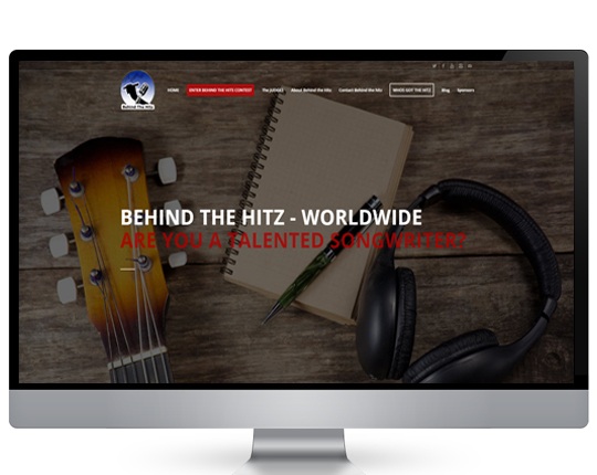 Behind the hitz website design company portfolio