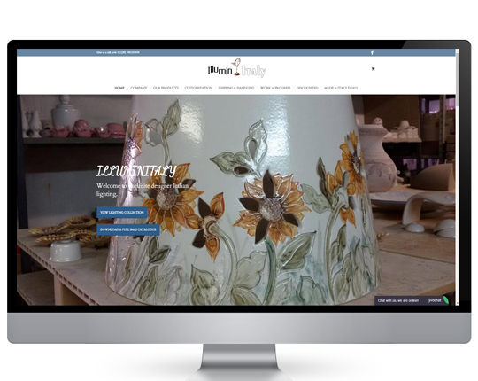 View our ecommerce website design portfolio