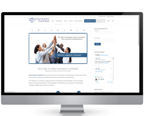 Website design great business platforms company