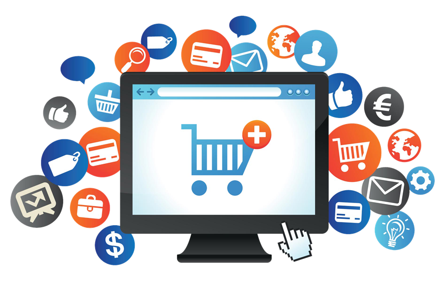 Feature packed ecommerce website design solutions